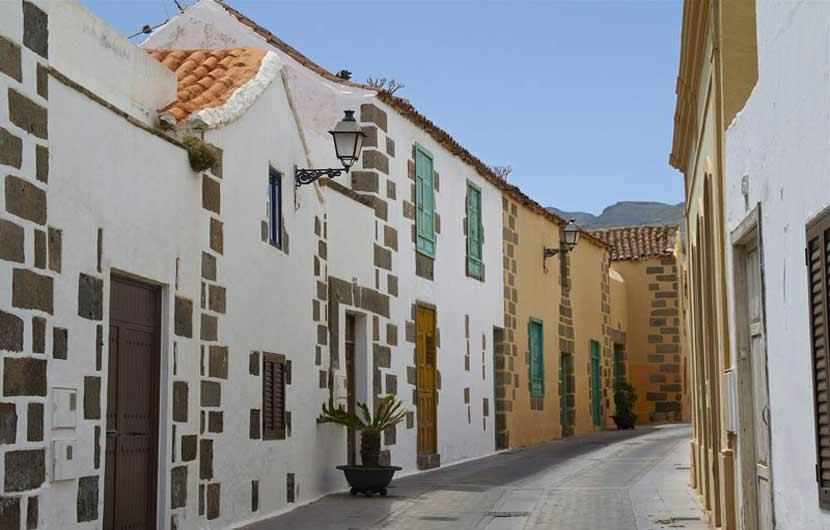 Aguimes Gran Canaria Street