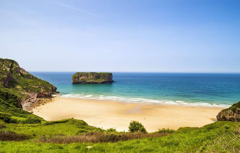 Best Beaches Spain - Andrin Beach Asturias