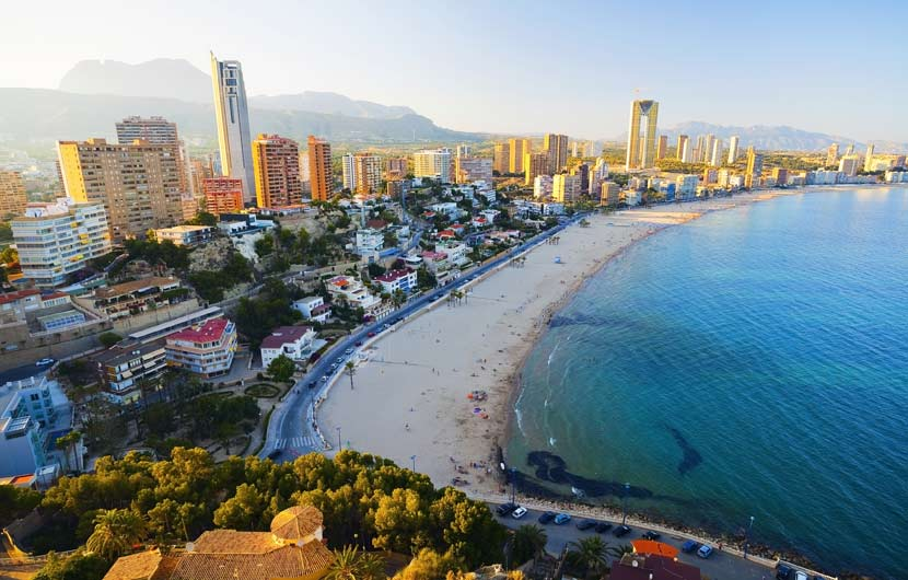Levante Beach Benidorm - Costa Blanca Travel Guide
