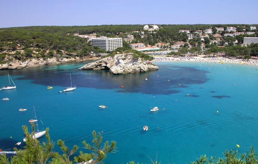 Best Beaches Spain - Cala Galdana Beach Menorca