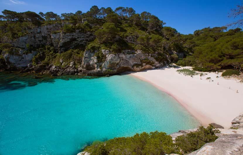 Best Beaches Spain - Cala Macarelleta Menorca