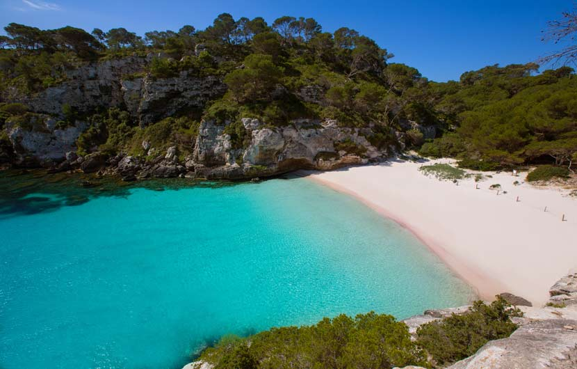 Cala Macarelleta Menorca Tarvel