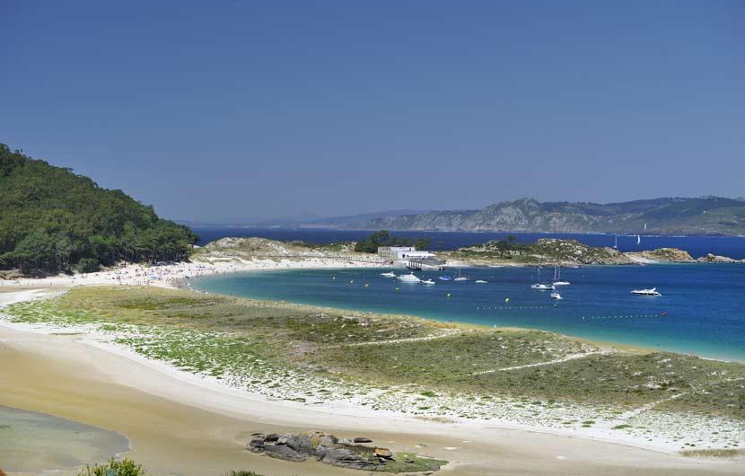 Cies Islands Beach Pontevedra