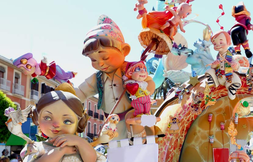 The Fallas De Valencia Festival