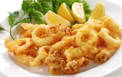 Fried Squid - Calamar Frito