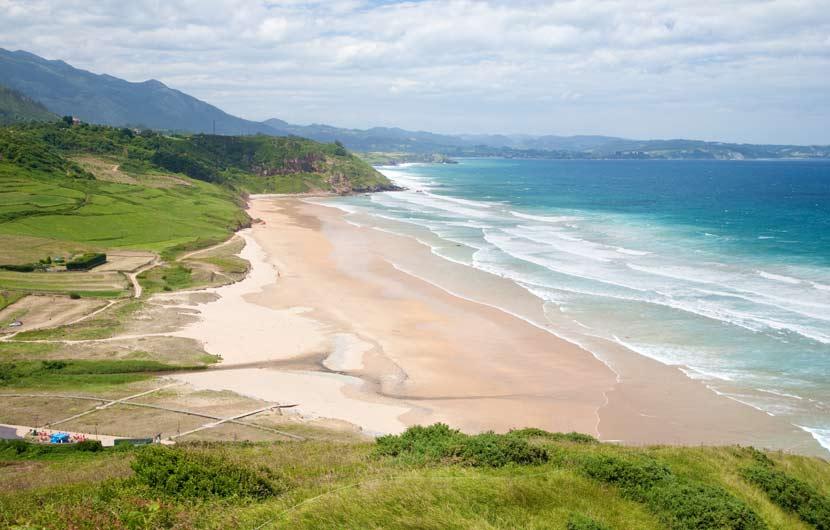 La Vega Beach Asturias