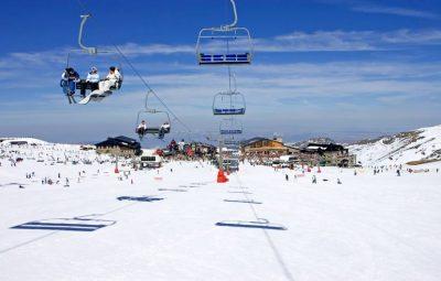 Sierre Nevada Skiing