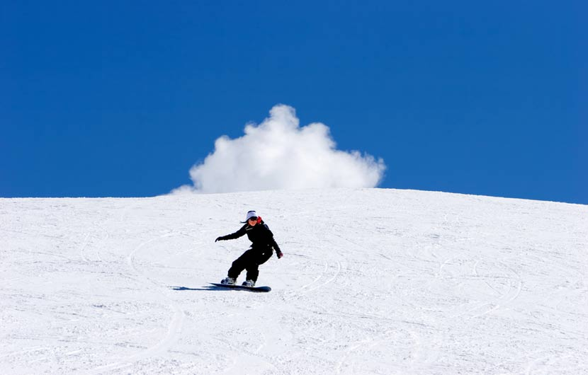 Skiing in Central Spain