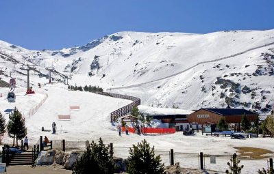 Skiing in Cantabria Spain