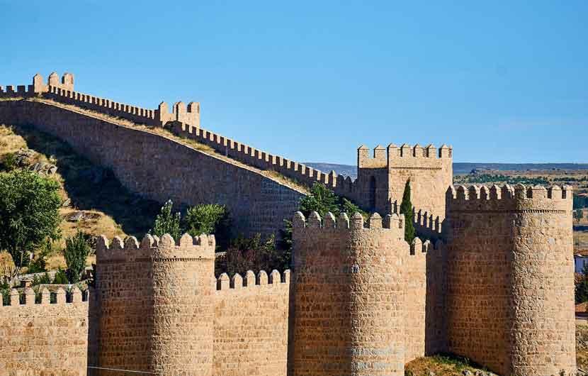Avila Castle Walls