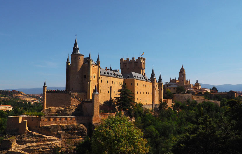 Alcazar - Cathedral of Segovia