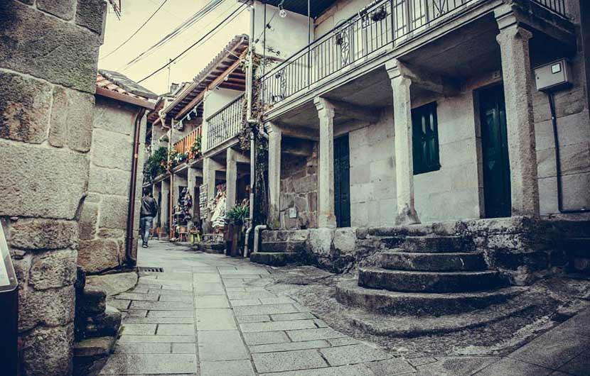 Combarro Galicia Street