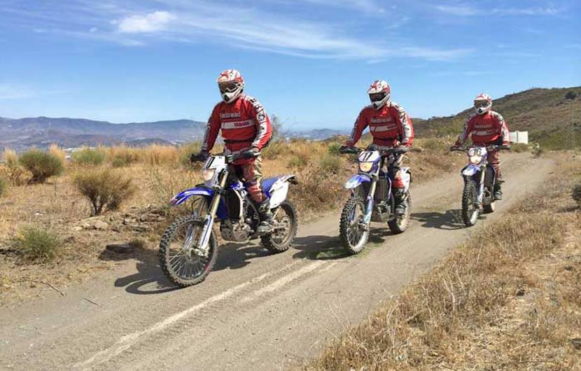 Dirt Biking in Spain