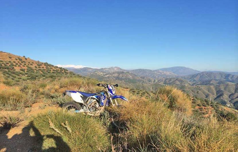 Dirt Biking in Spain Fun