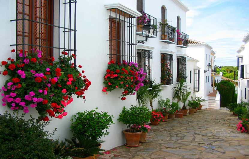 Marbella Old Town Street