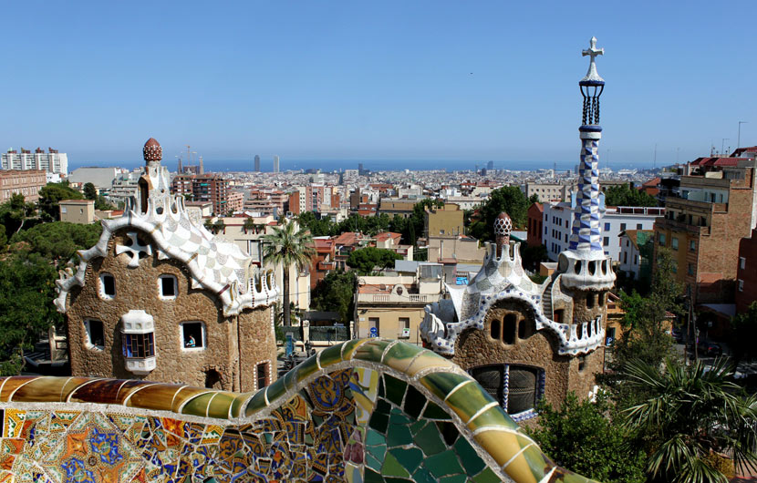 Parc Guell Barcelona Travel