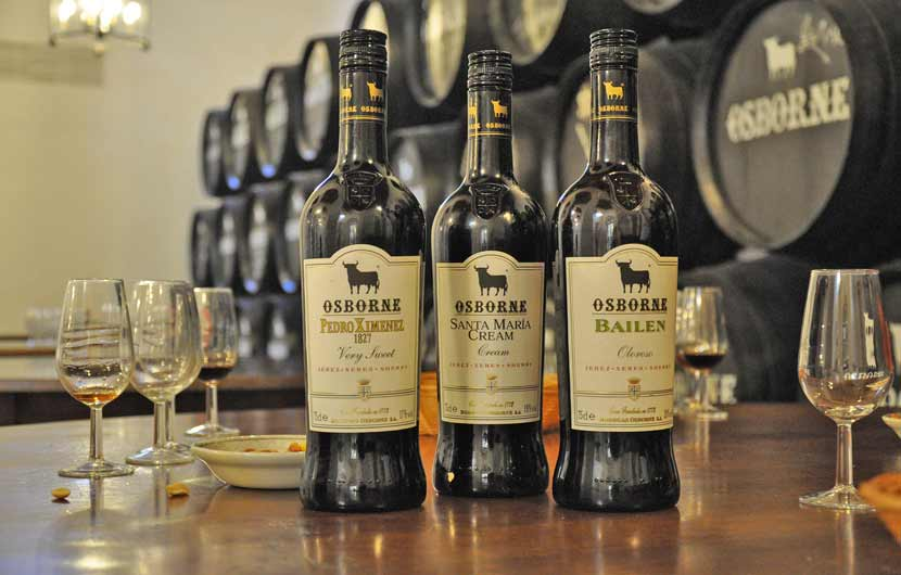 Sherry Wines from Jerez Spain