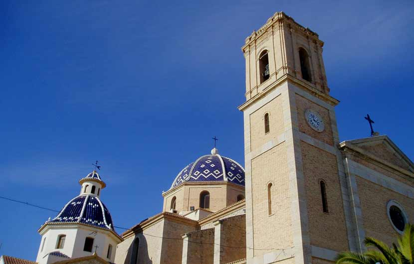 Altea Church Costa Blanca Travel