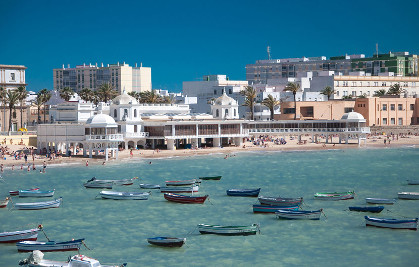 Caleta Promenade Cadiz