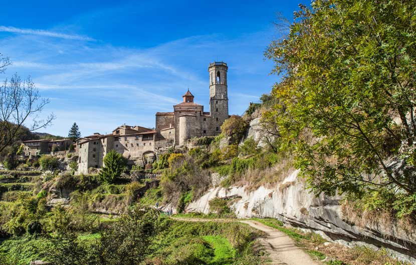 Town of Rupit Catalonia Travel