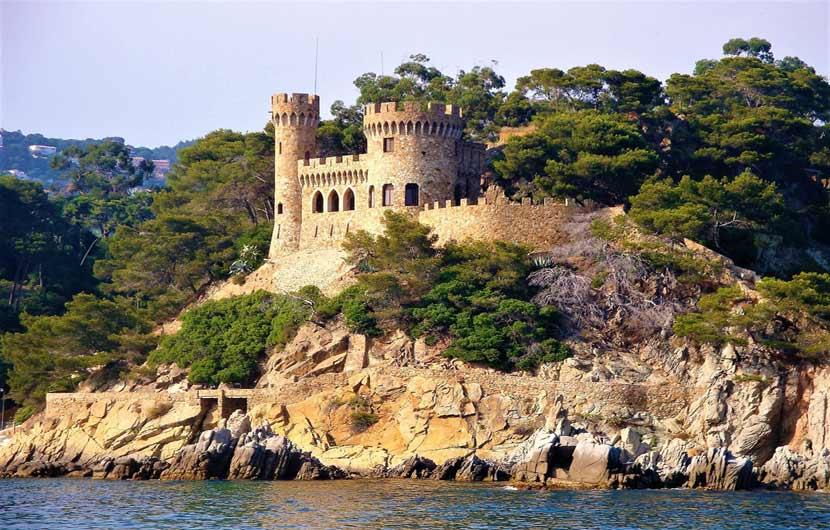 San Joan Castle Costa Brava