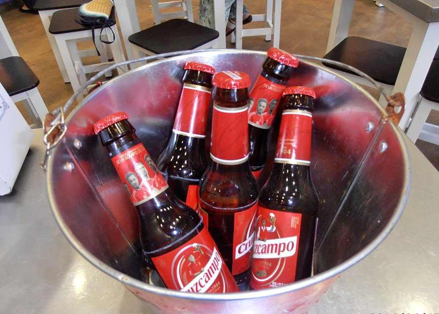 Popular Cruzcampo Beer Bucket