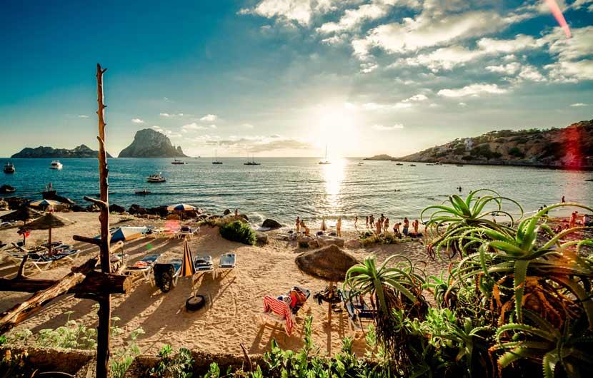 Ibiza Cala d'Hort Beach
