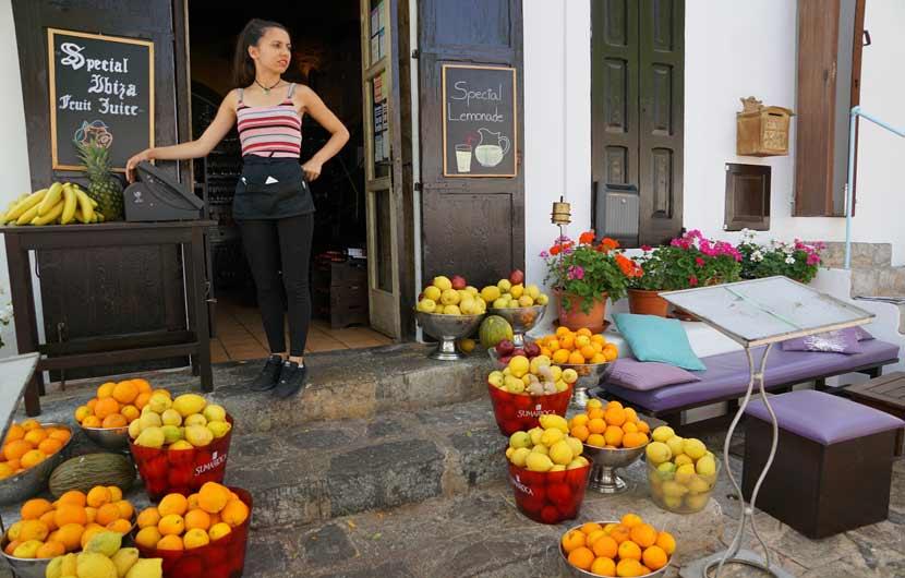 Orange Juice Seller Ibiza