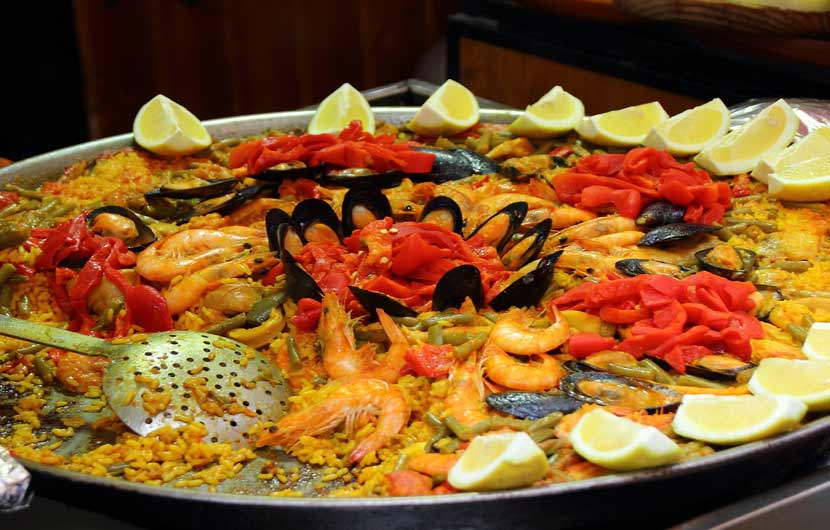 Seafood Paella - Gastronomic Holidays in Spain