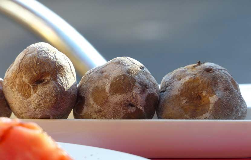 Wrinkly Potatoes - Papas Arugadas