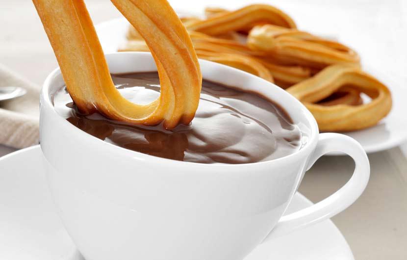 Chocolate & Churros Breakfast