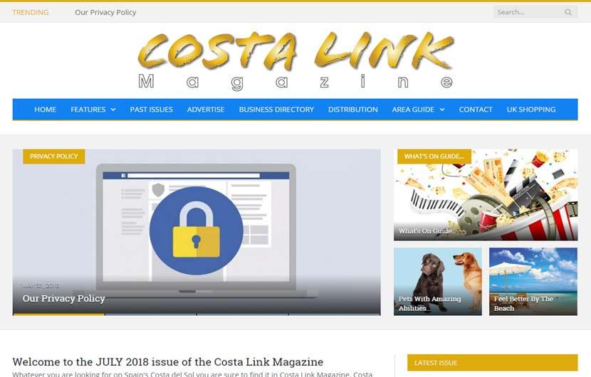 Costa Link Magazine