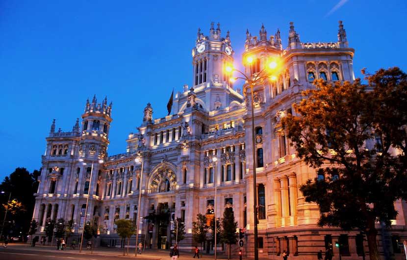 Palacio de las Comunicaciones Madrid