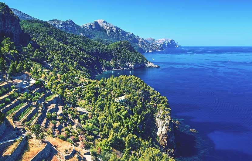 Western Coastline Majorca