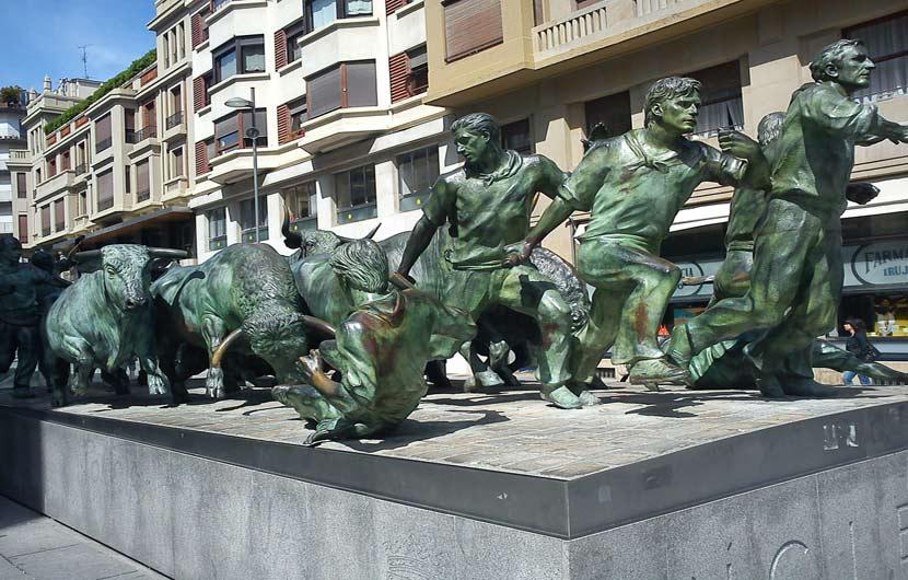 Encierro Bronze Monument