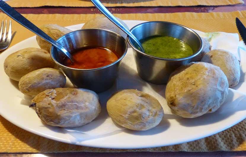 Papas Arrugadas - Wrinkled Potatoes