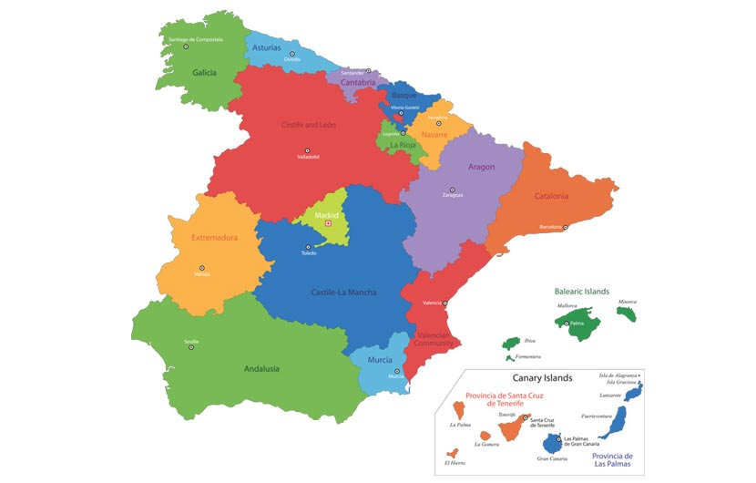 Free Printable Map Of Spain.Free Maps Of Spain Download High Quality Spain Image Maps