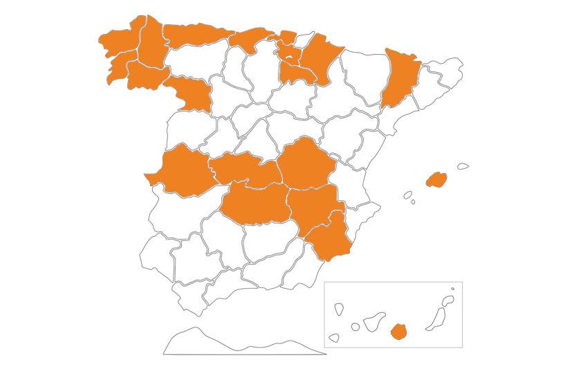 Cheese Producing Regions Spain