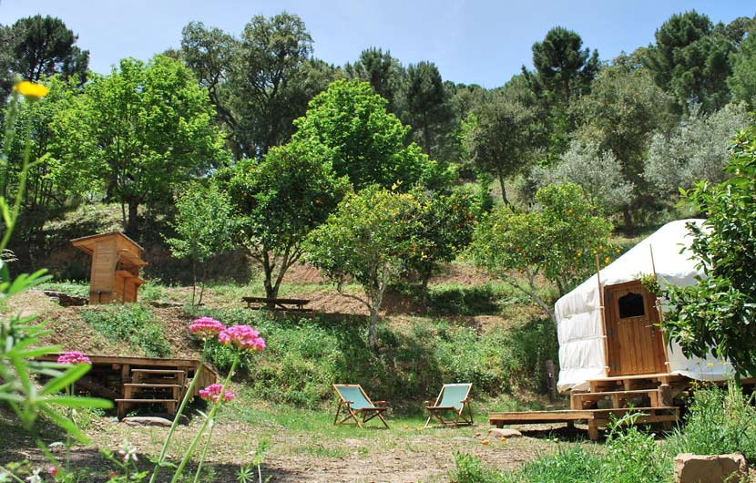 Orange Grove Yurts - Best Eco-Friendly Place To Stay In Spain