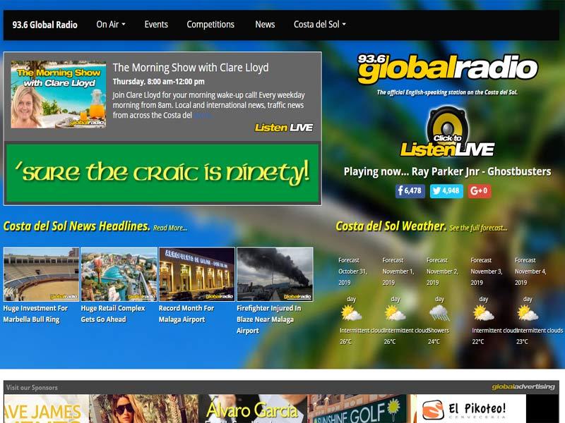 Global Radio fm Spain
