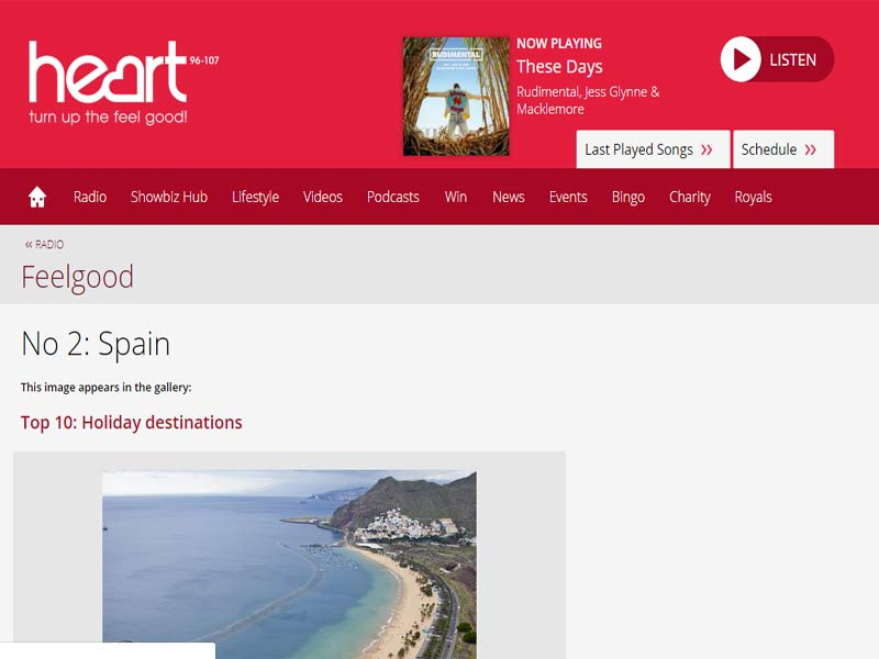 Heart Fm Radio Spain