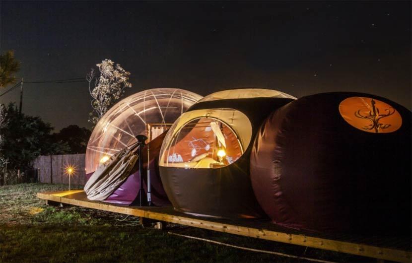 Bubble Pods Accommodation