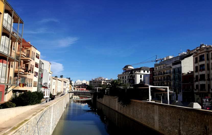 Segura River Orihuela City Centre